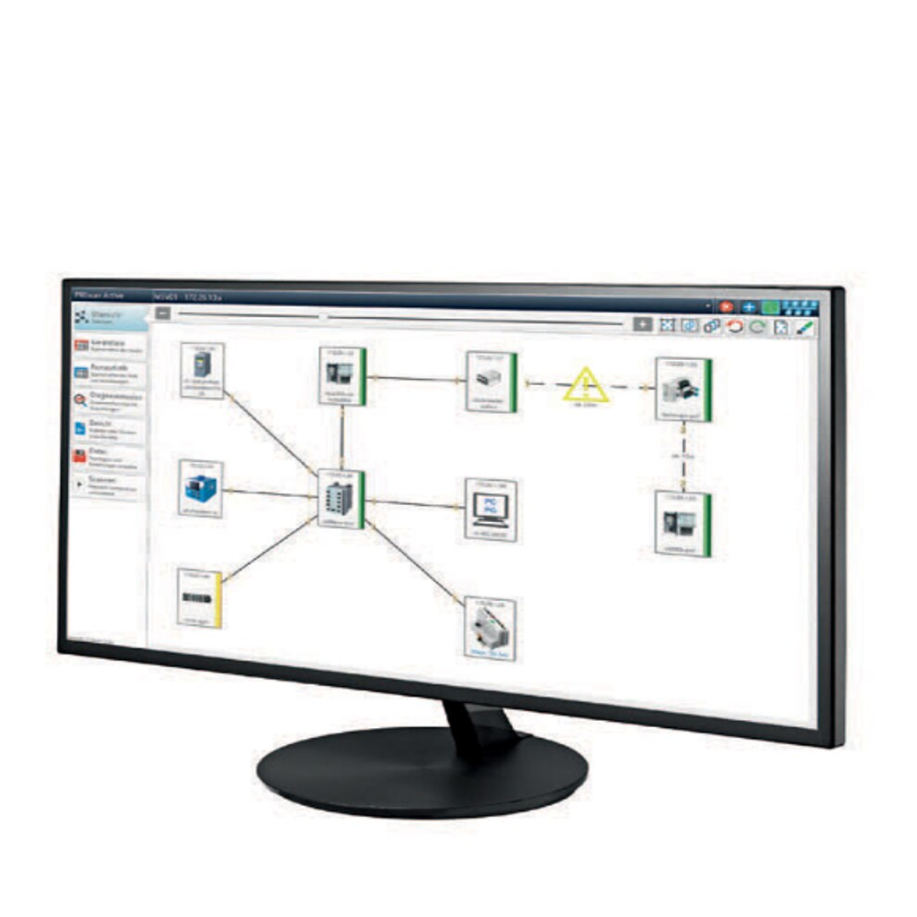 Proscan Active Automation Network Software Topology