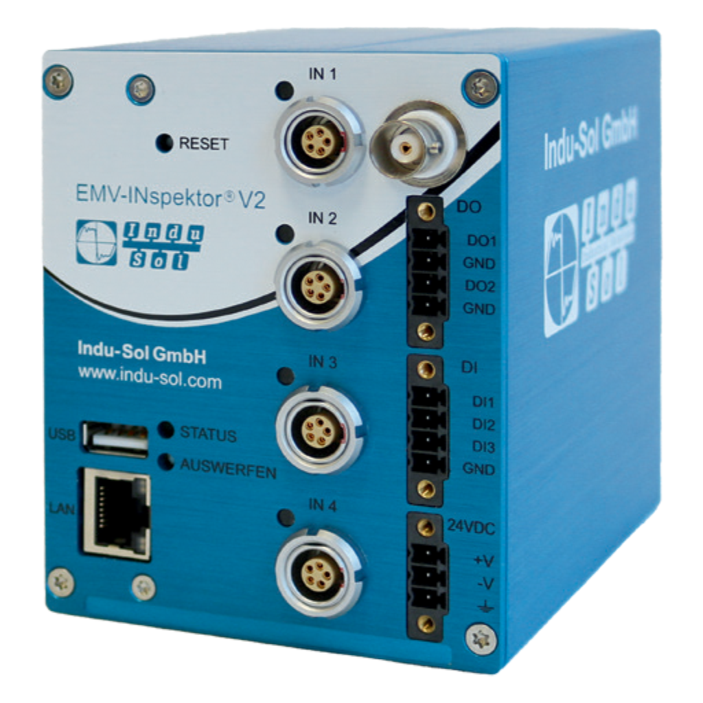EMV-INspektor® V2   EMC - Measuring/monitoring of leakage, shielding and interference currents 122010001