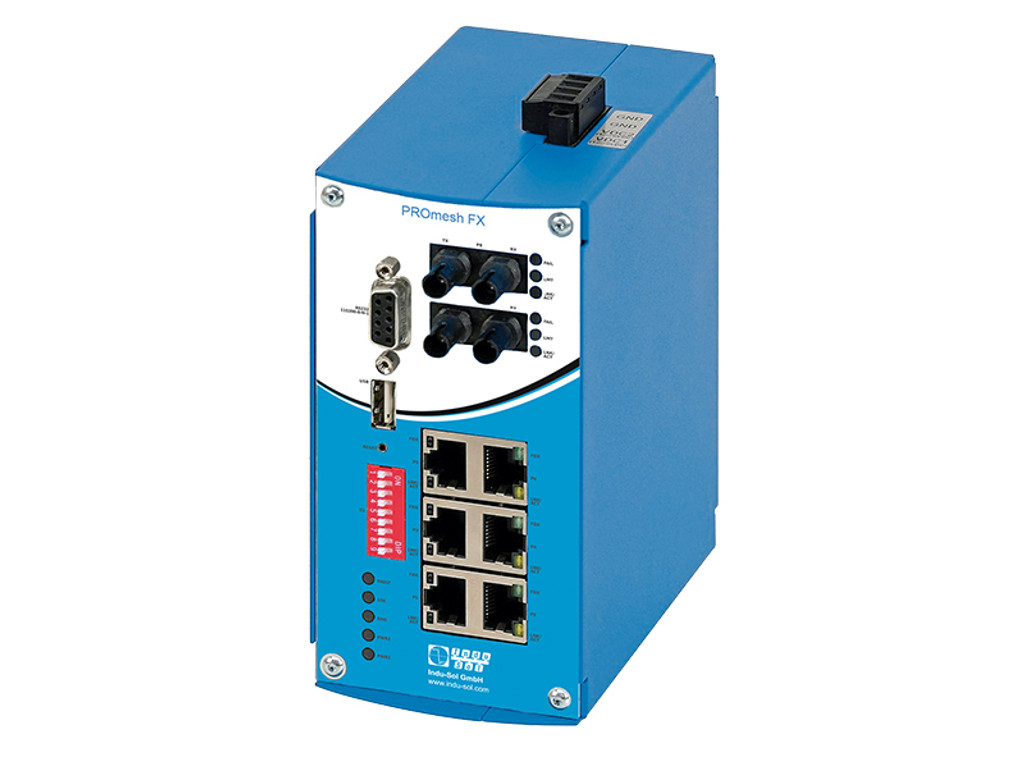 PROmesh FX Managed PROFINET / Ethernet Switch
