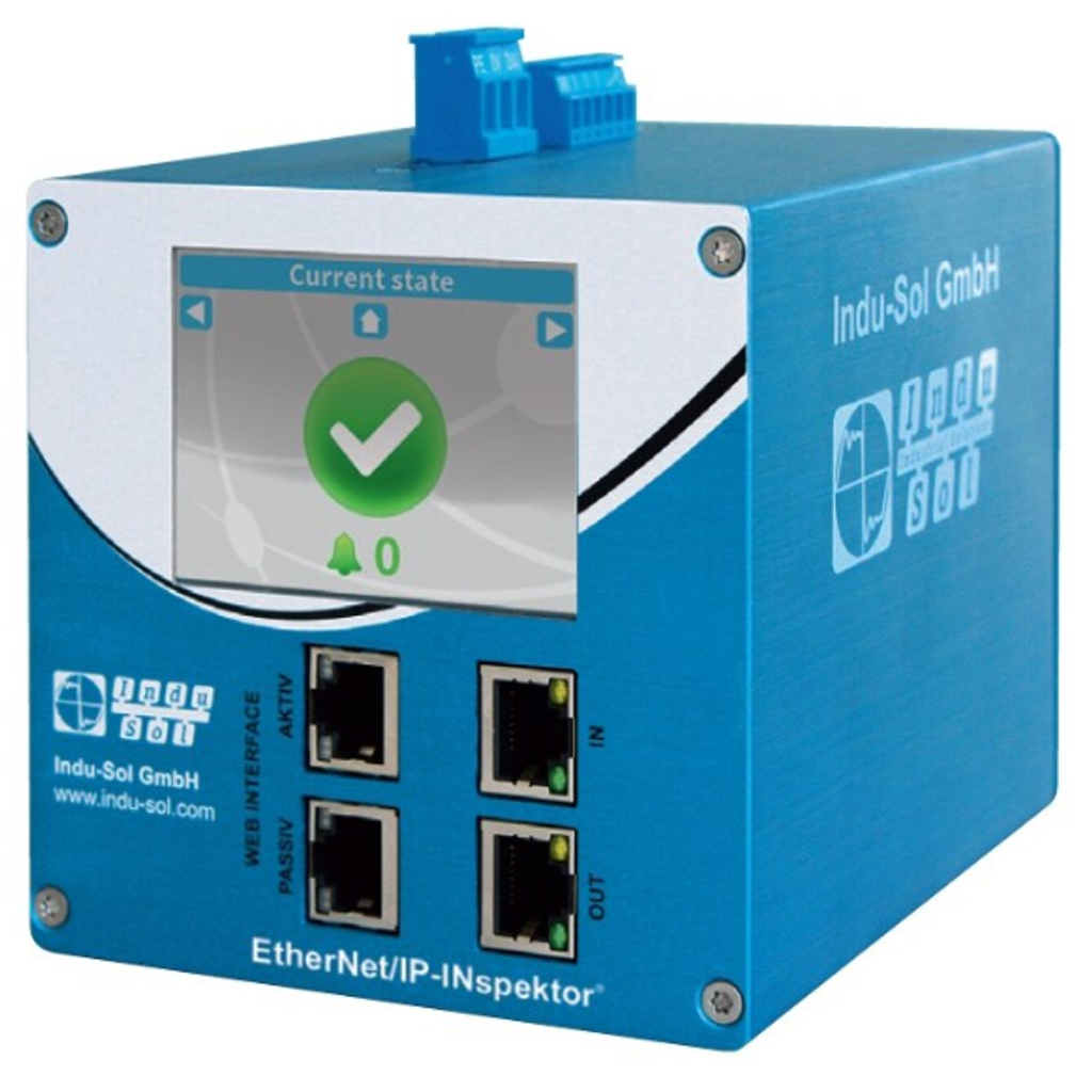 InduSol EtherNet/IP-INspektor 124090000 diagnostic tool for online analysis