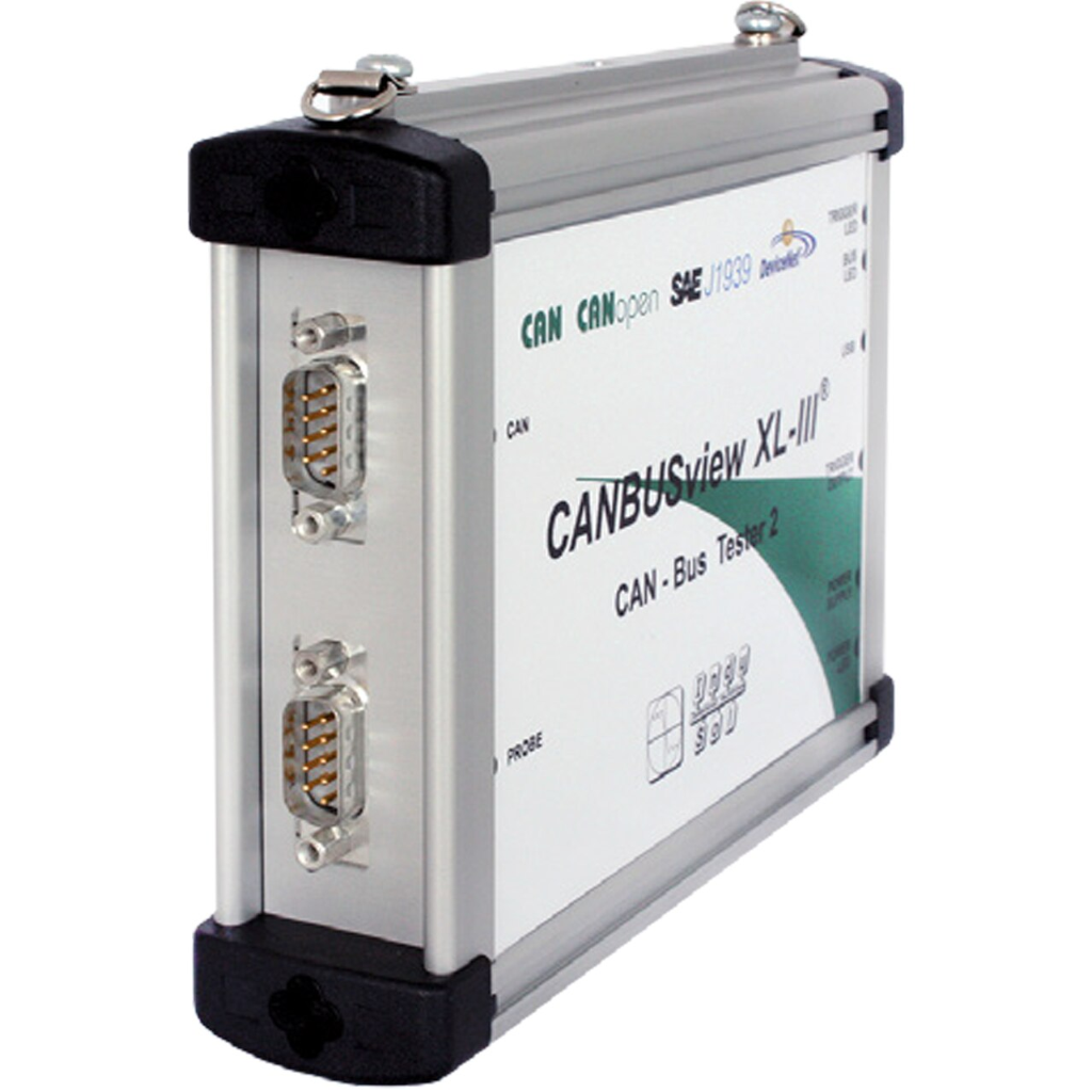 The CANBUSview XL III is a universal CAN measuring tool