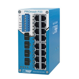 PROFINET PROmesh P20 Managed Switch with leakage current monitoring