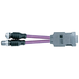 InduSol's M12 Y Adapter for use with the PROFIBUS Troubleshooting and Diagnostic Tool, PB-Q ONE
