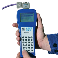 PROFtest II XL is a PROFIBUS DP cable measuring tool to check that the cable installation is correct in PROFIBUS networks.