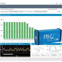 PROFIBUS Tester PB-Qone 110010050 with simple display of signal quality and signal to noise ratio