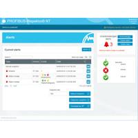 PROFIBUS INspektor view of automatic alerts for PROFIBUS errors