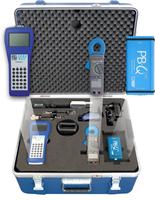 The InduSol PROFIBUS Diagnostic II Set includes the PB-Q ONE, EMCheck LSMZ I, and PROFtest XL II