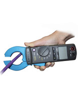 EMCheck LSMZ I Leakage Current Clamp 122010005 in use