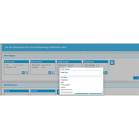 Setting up a customizable triggered alert on the PROmesh P10X web interface