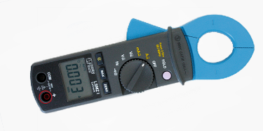 EMC measuring clamp for leakage current monitoring and measuring