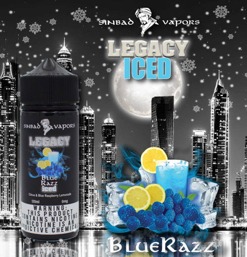 Blue Razz Iced