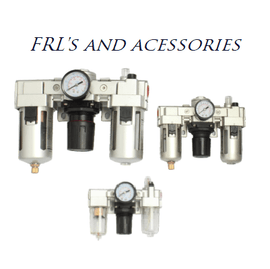 """Includes Premium Teryair© set of 3/8"""" Filter, Lubricator and Regulator and two connection brackets."""