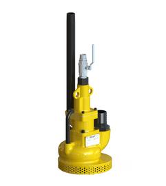 Teryair© Pneumatic Submersible Pump, SP-10, Max Head 90ft (27Mtr), Capacity 28cfm (48cmh)