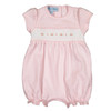 Smocked Flower Shortall