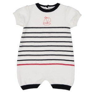 Knit Sailboat Shortall