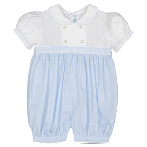 Girls Double Breasted Romper