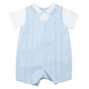 2-Piece Nautical Shortall