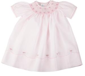 Pearl Flower Bishop Dress
