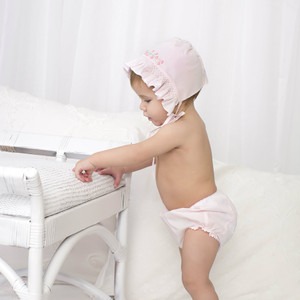Ric Rac Trim Diaper Cover