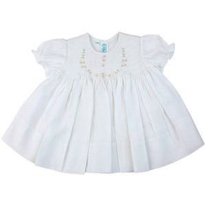 Smocked Rose Dress