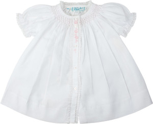 Girls Honeycomb Smocked Yoke Daygown