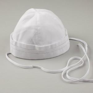 Boys White Sailor Hat