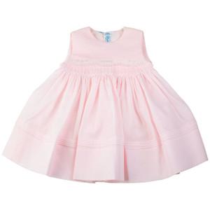 Sleeveless Scalloped Lace Dress