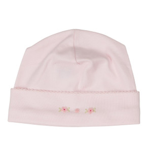 Smocked Flower Hat