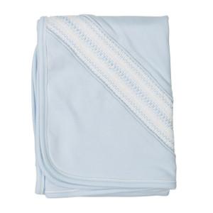 Smocked Diamond Blanket