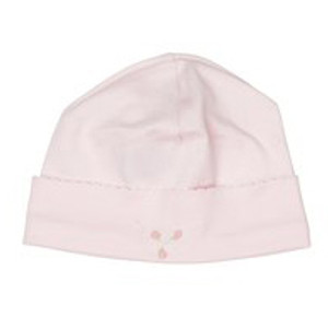 Embroidered Bow Hat