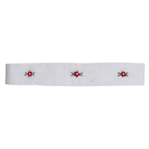 Holiday Floral Bullion Pearl Hairband