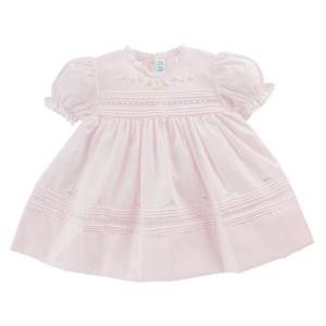 Floral Bullions Dress - Newborn Size