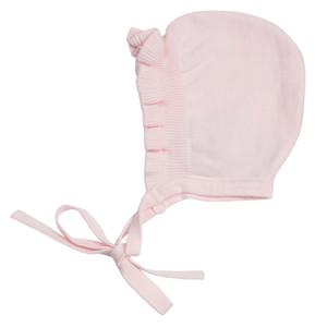 Ruffle Knit Bonnet