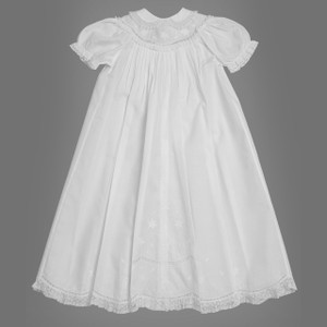 Girls Scalloped Yoke Special Occasion Set