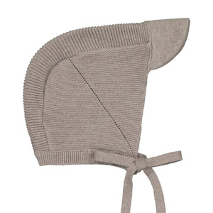 Knit Brimmed Bonnet