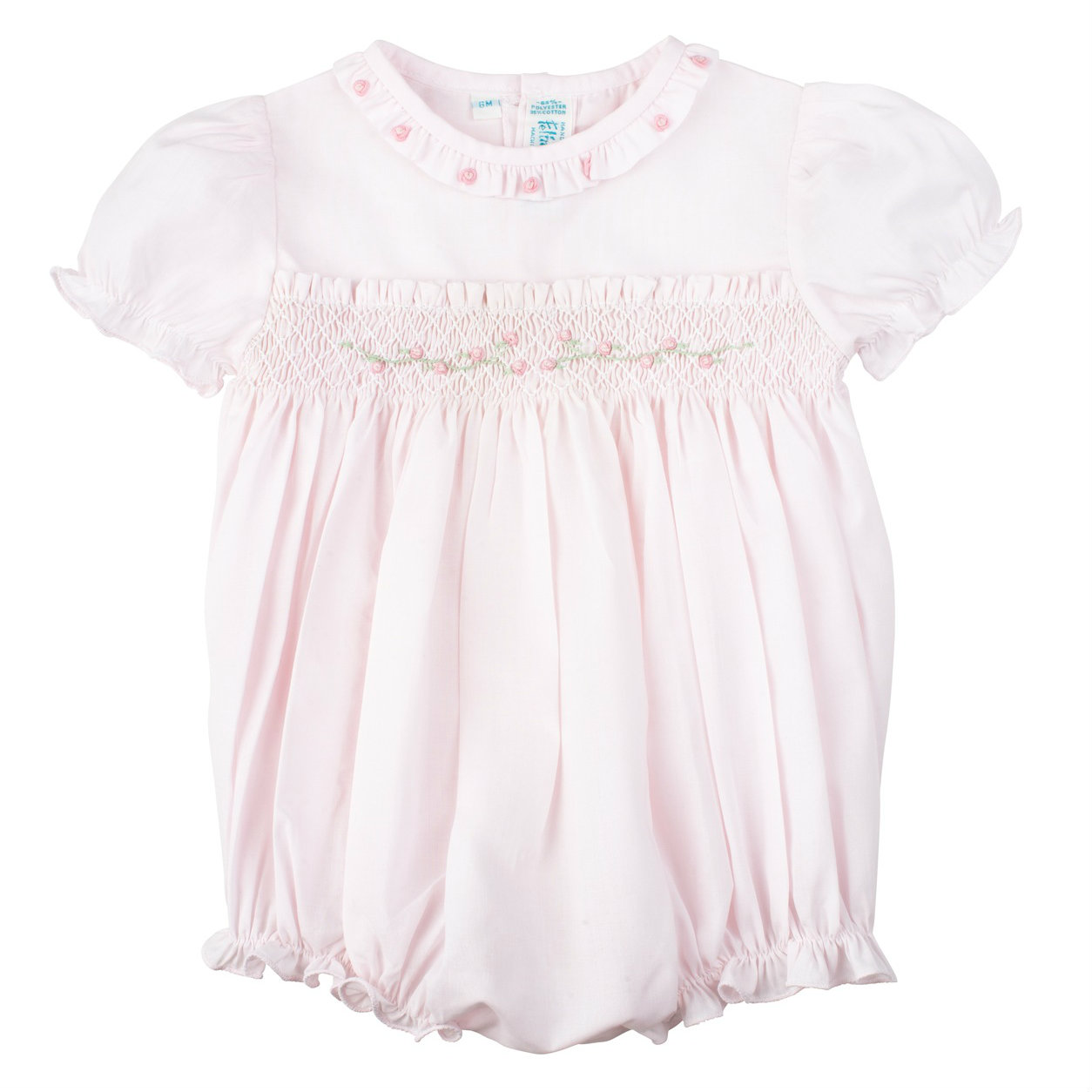 c578b88c3b8d Rose Garden Collection Smocked Bubble | Feltman Brothers