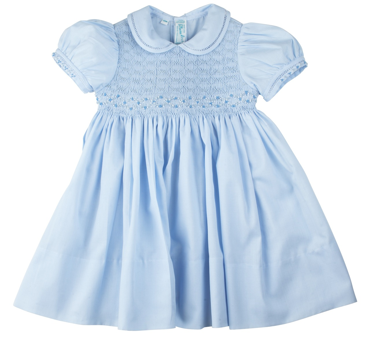 bce9fc9bb23f2 Collared Smocked Dress