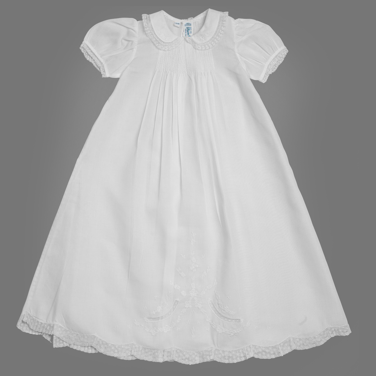3eff38e67 Girls Ruffle Lace Collar Special Occasion Gown Set | Feltman Brothers