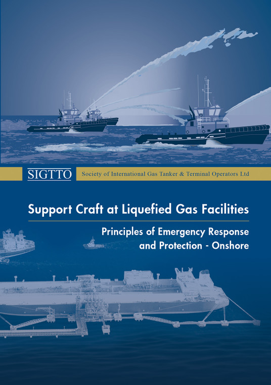 Support Craft at Liquefied Gas Facilities, Principles of Emergency Response and Protection - Onshore