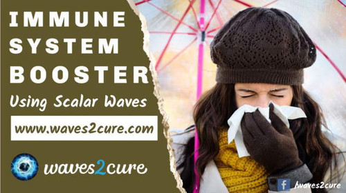 Boost Your Immune System Using Scalar Waves