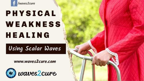 Physical Weakness Healing Using Scalar Waves