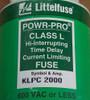 Littelfuse POWR-PRO KLPC 2000A 600V Class L Hi-Interrupting Time Delay Fuse