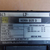Square D 8502 SE02 Size 3 Contactor 3 Phase 120V Coil - Used