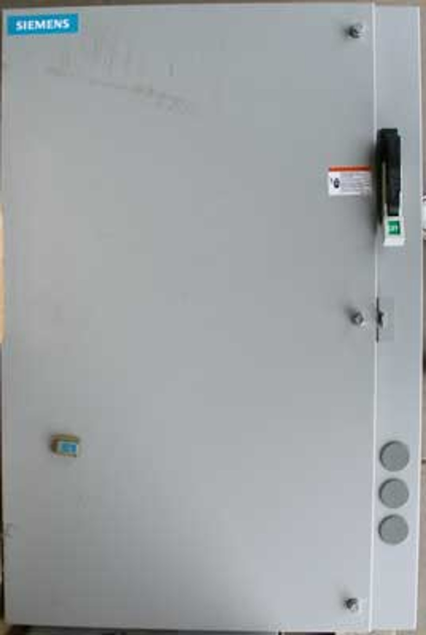 Siemens 18ISL92NF 3 Phase Combination Magnetic Starter 125A 600V N12
