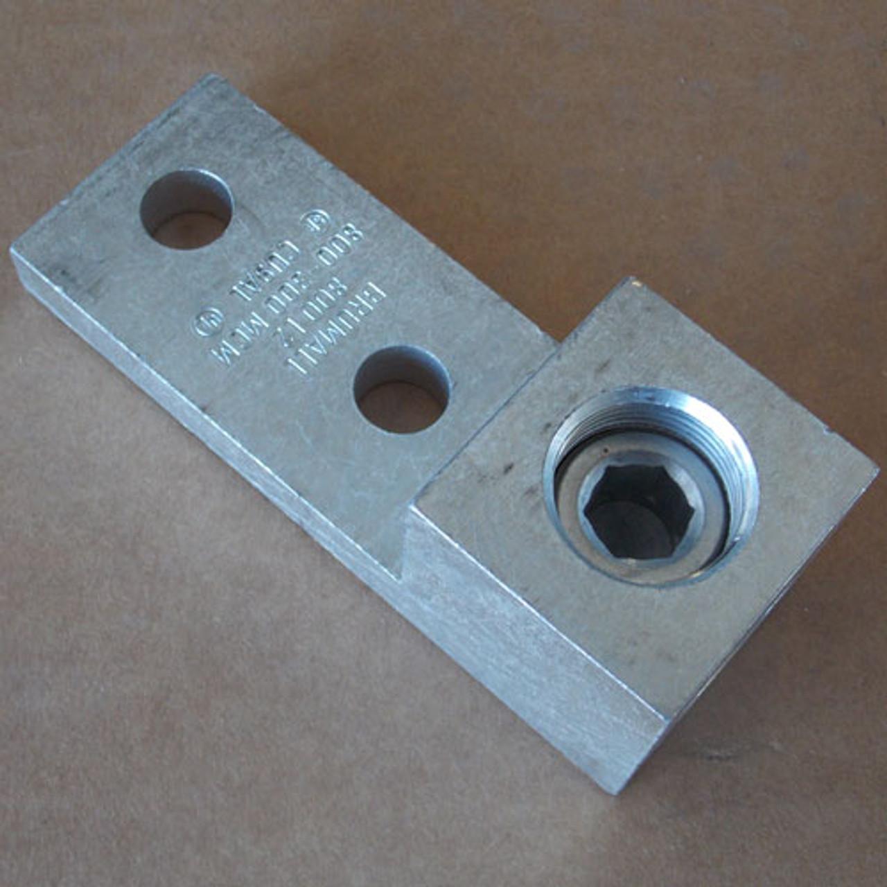 2Pc Brumall 800L2 800 - 300 MCM Single Hole Lug CU9AL New