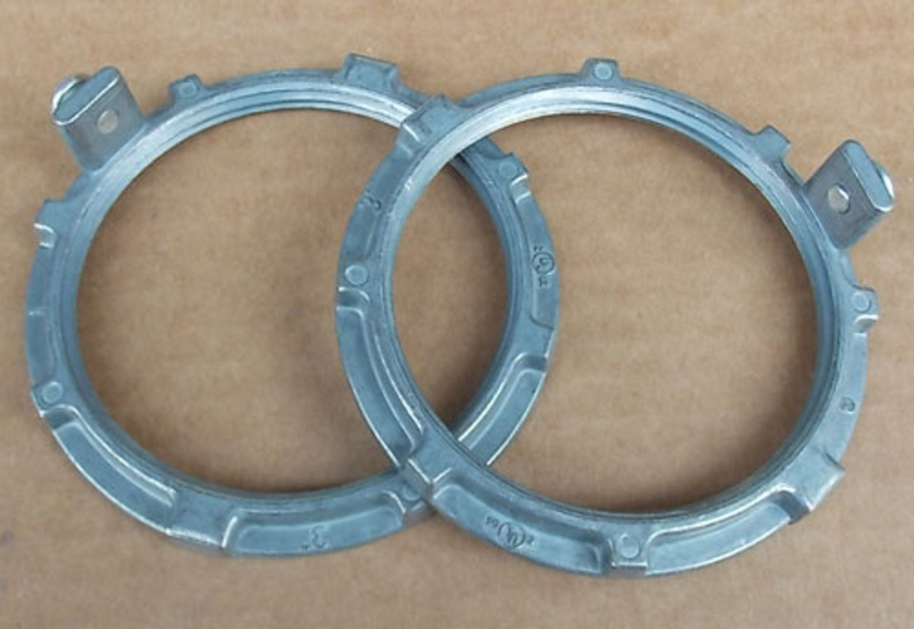 """2Pc Cooper Crouse-Hinds CHGN8 3"""" Commercial Ground Nut - New"""