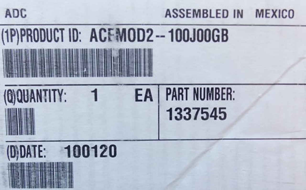 ADC ACEMOD2-100J00GB Mutiple Fiber Cable - New