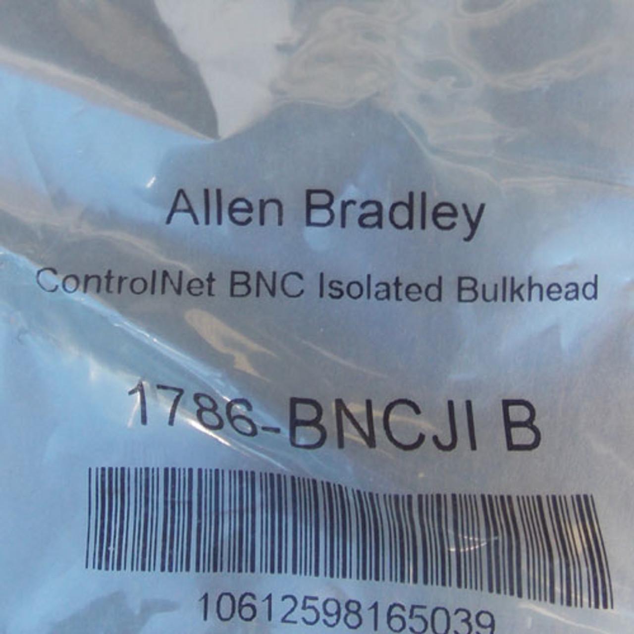 Allen-Bradley 1786-BNCJI B ControlNet BNC Isolated Bulkhead, Lot of 3 - New