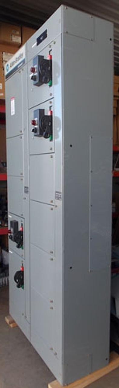 Allen-Bradley 2100 Series 600 Amp 480 Volt 3 Phase Motor Control Center - Used