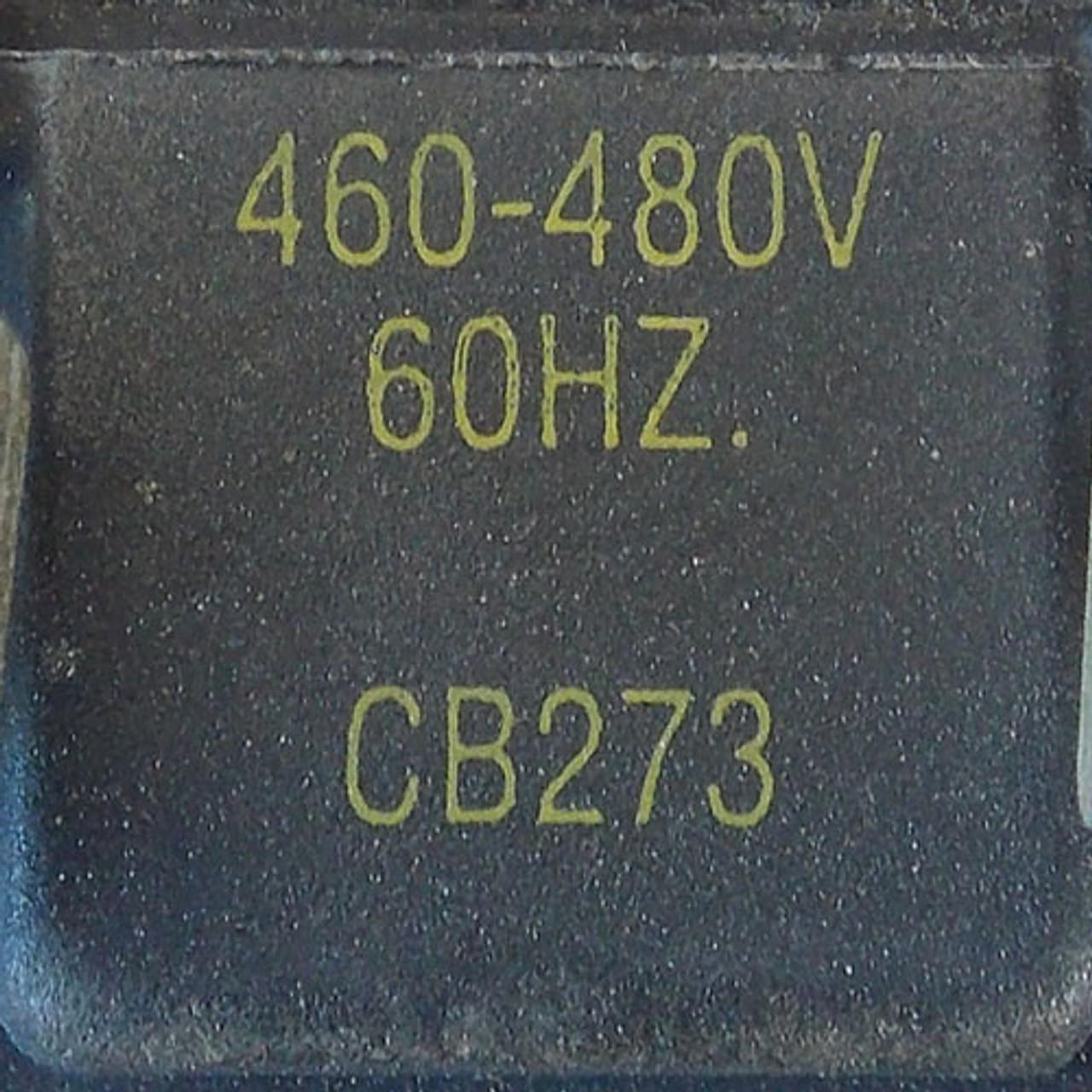 Allen-Bradley 509-BOD Size 1 Magnetic Starter 3 Pole 480V Coil - Used